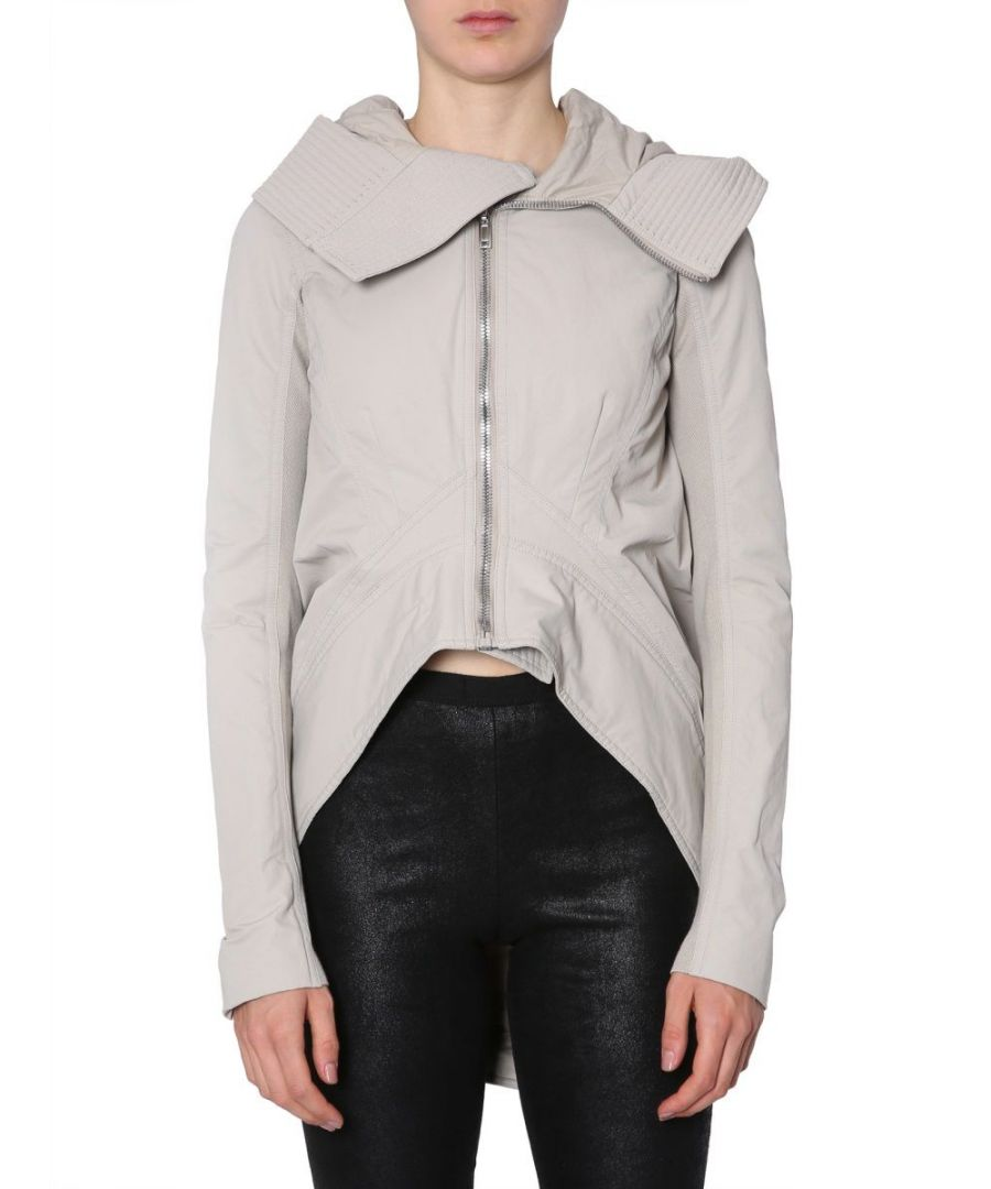 Image for DRKSHDW BY RICK OWENS WOMEN'S DS18F7717MU08 GREY POLYAMIDE JACKET