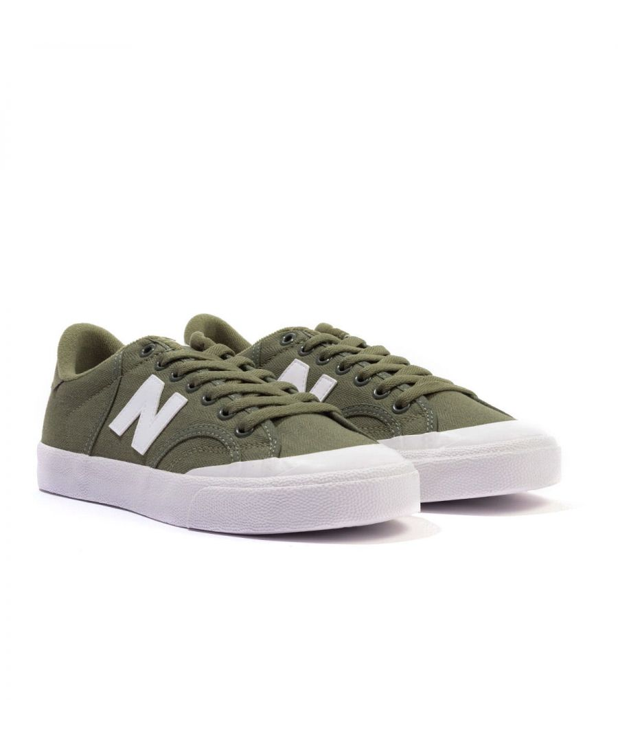 Image for New Balance Pro Court Canvas Trainers - Green