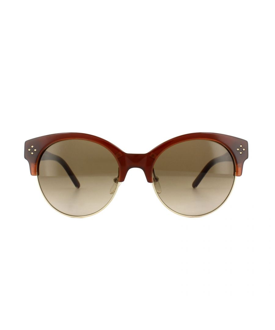 Image for Chloe Sunglasses CE704S Boxwood 208 Caramel Gold Brown Gradient