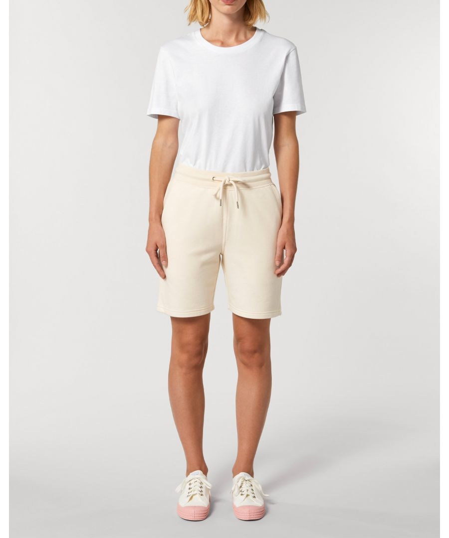 Image for Vayu Unisex Jogger Shorts in Natural