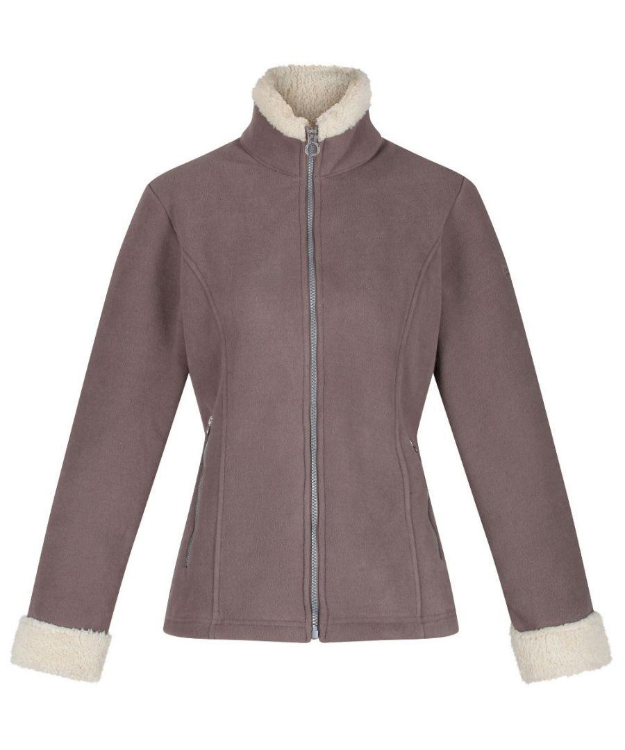 Image for Regatta Womens Brandall Full Zip Heavyweight Fleece Jacket