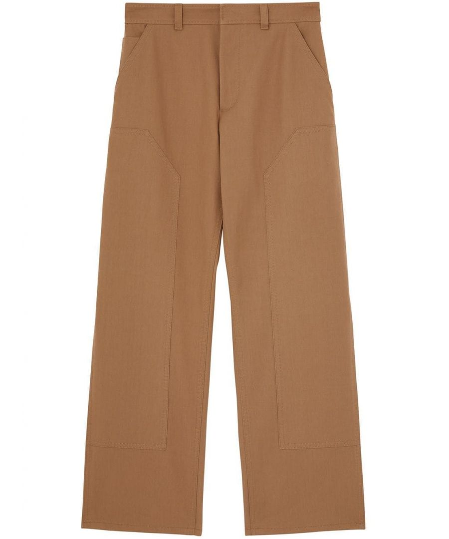 Image for BURBERRY MEN'S 4563534 BROWN COTTON PANTS