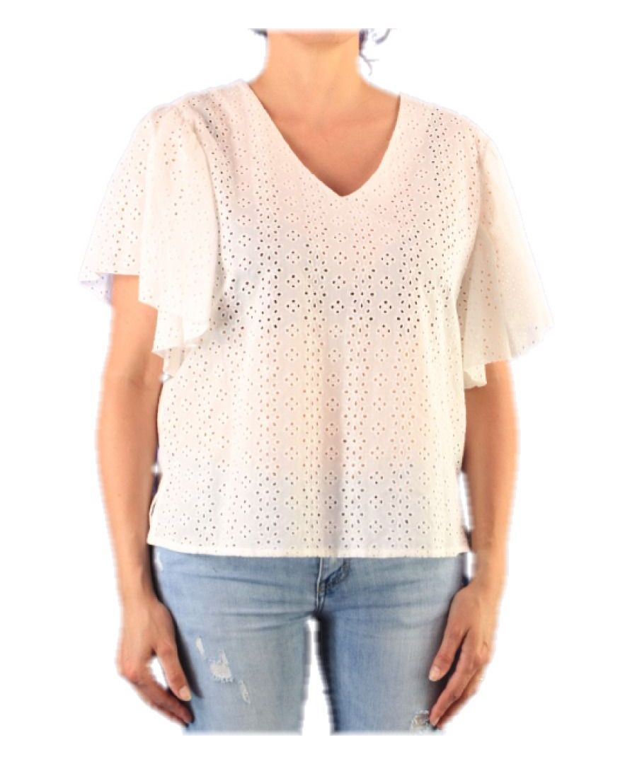 Image for ALTEA WOMEN'S 450129 WHITE COTTON T-SHIRT