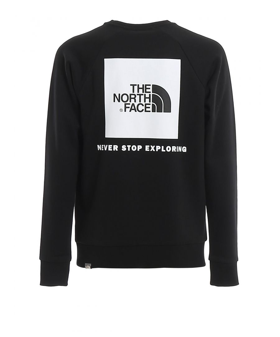 Image for THE NORTH FACE MEN'S NF0A3RZ2KY41 BLACK COTTON SWEATSHIRT