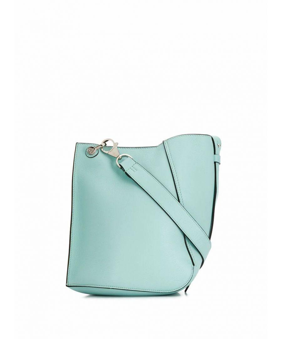 Image for LANVIN WOMEN'S LWBGTQ01SILKP20 LIGHT BLUE LEATHER SHOULDER BAG