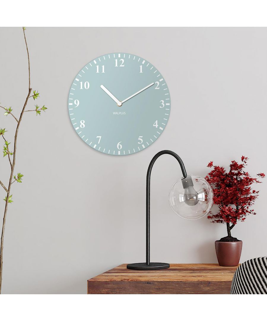 Image for Duck Egg Solid Colour Classic Wall Clock wall clock, wall clock vintage 30 cm x 30 cm x 2.5 cm 1 piece
