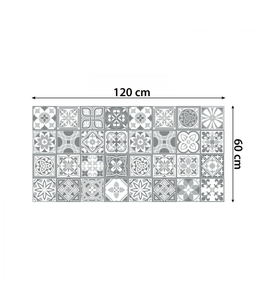 Image for WFS6031 - Purbeck Stone Tiles Floor Stickers 120cm x 60 cm