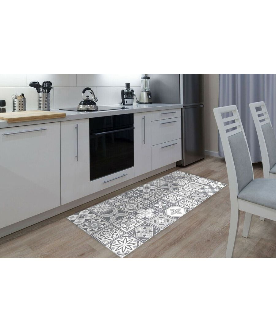 Image for WFM6131 - Purbeck Stone Tiles Rug Mat 120cm x 60 cm