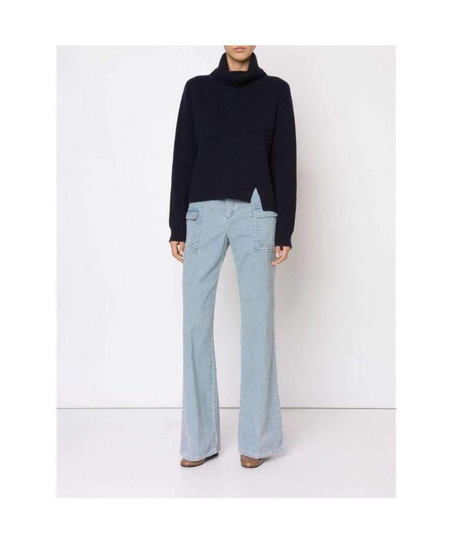 Image for Chloé Corduroy Wide Leg Trousers Pants