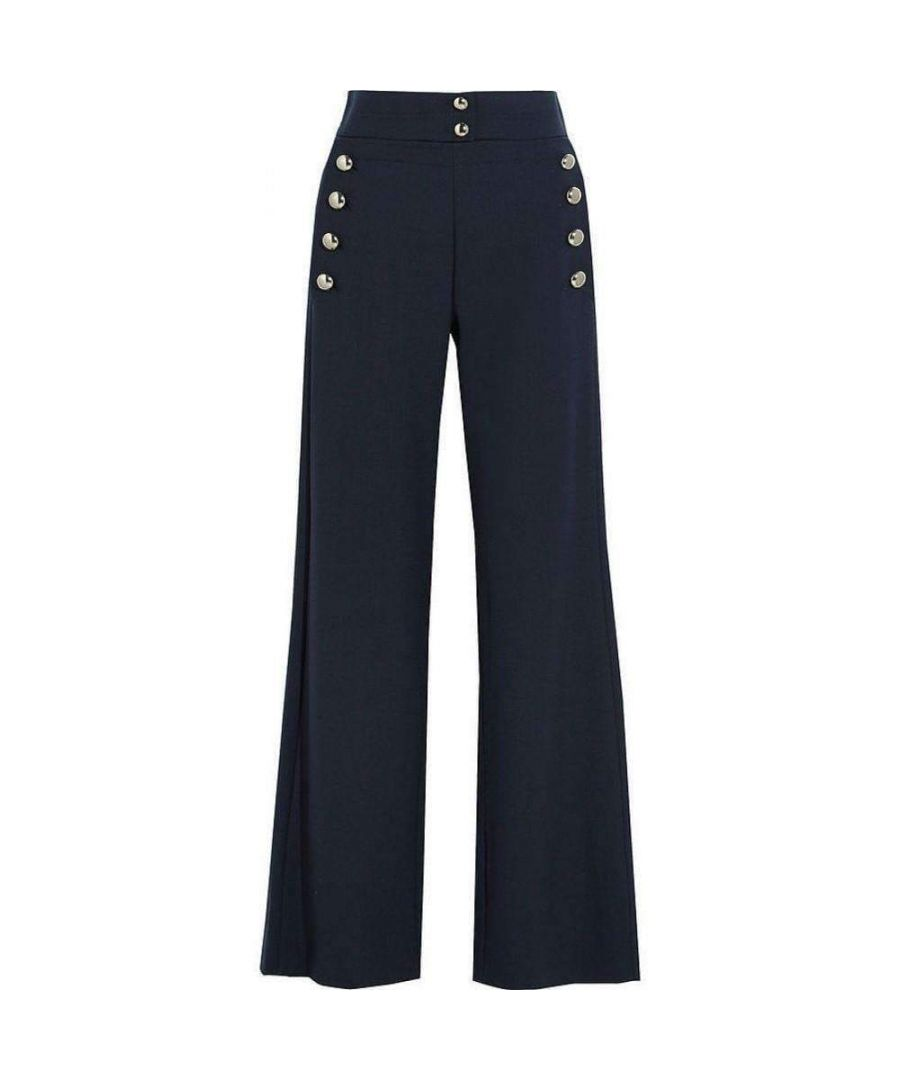 Image for Chloé Stretch Wool Flared Pants