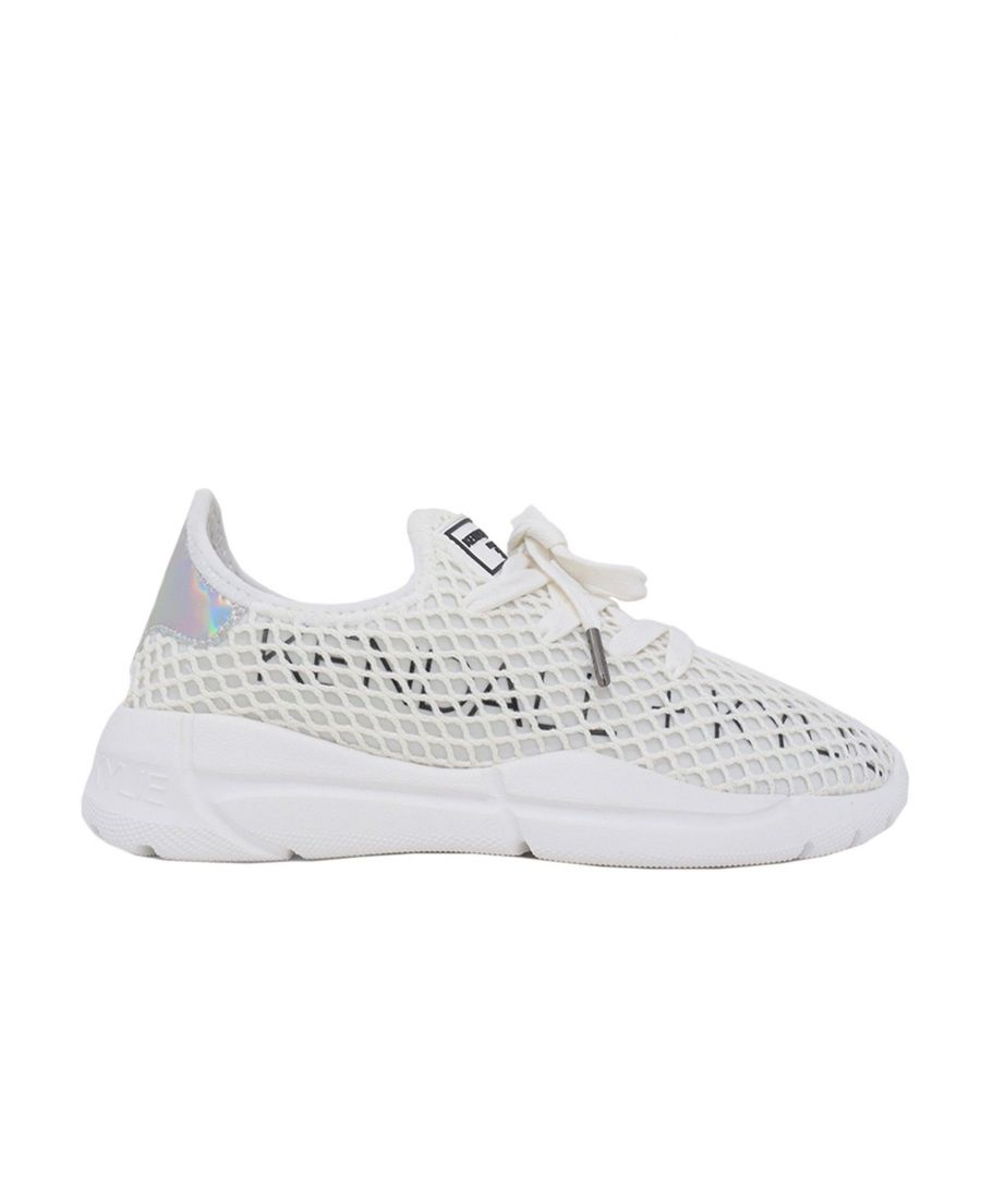 Image for KENDALL + KYLIE WOMEN'S KK2NORAD05 WHITE SYNTHETIC FIBERS SNEAKERS