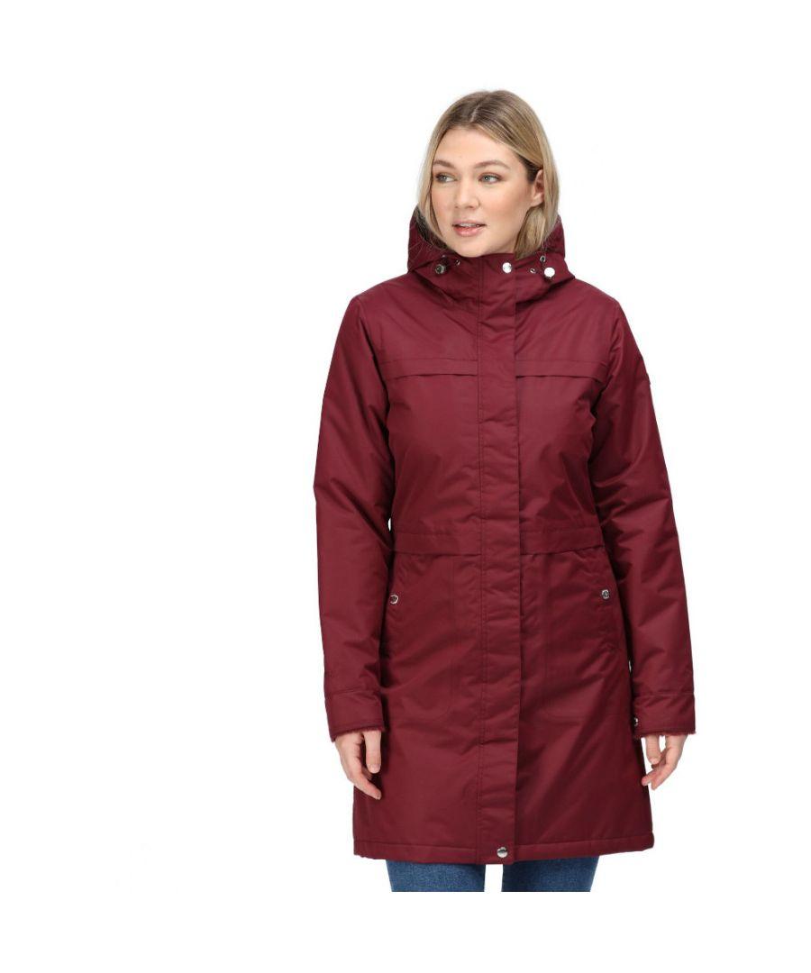 Image for Regatta Womens Remina Waterproof Insulated Parka Jacket Coat