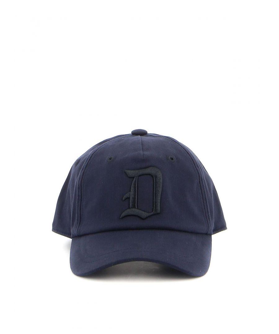 Image for DONDUP MEN'S UQ077Y00402UXXXDU897 BLUE POLYESTER HAT