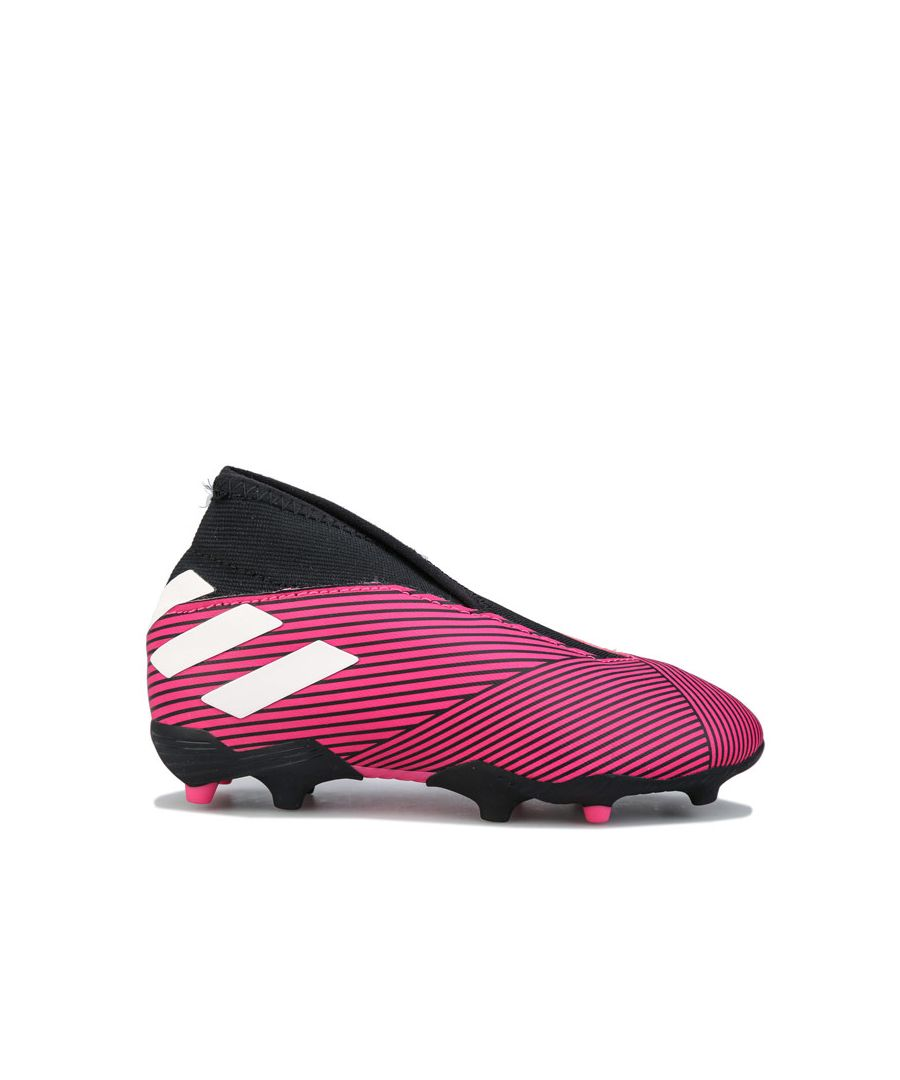 Image for Boy's adidas Junior Nemeziz 19.3 FG Football Boots Pink