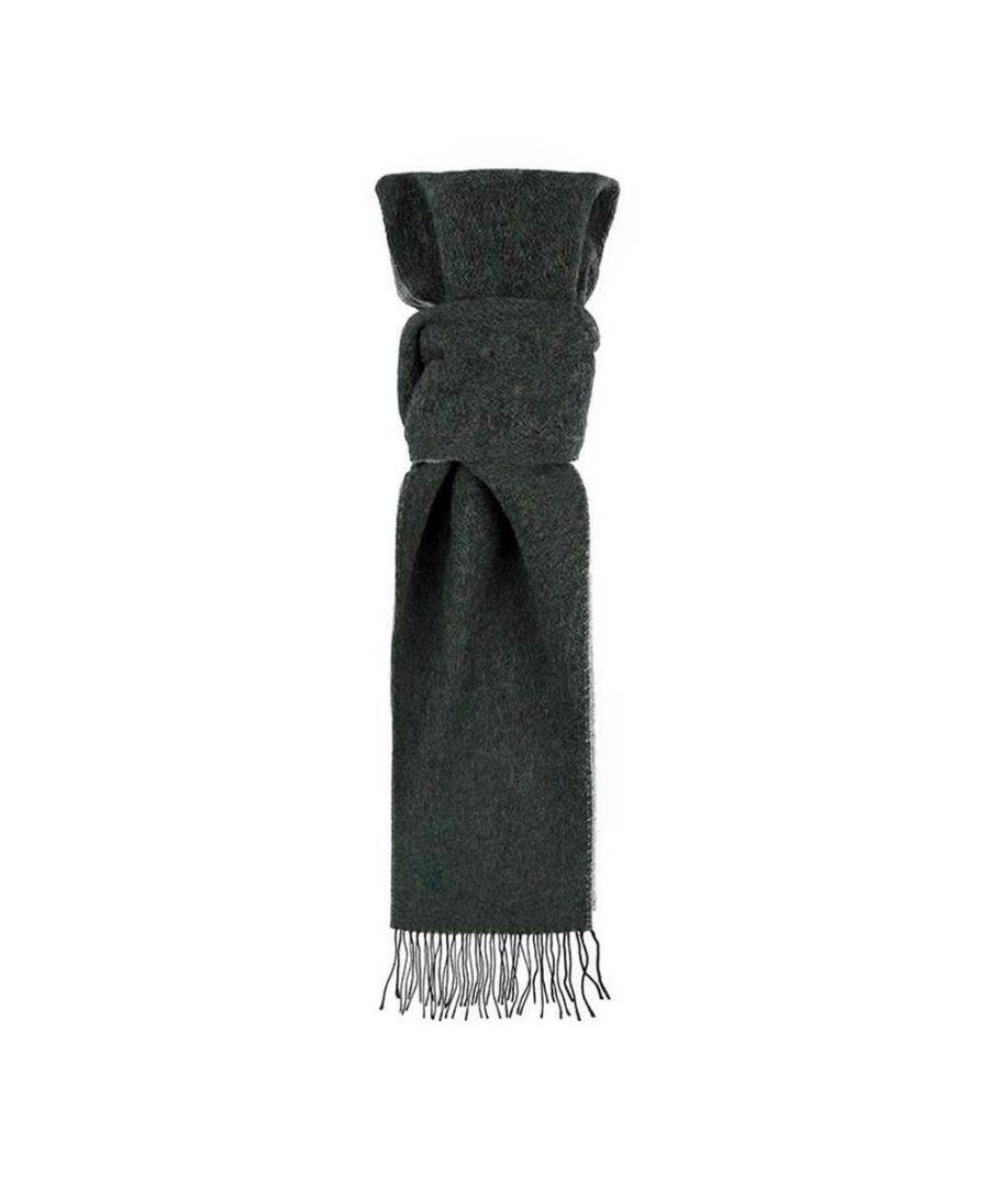 Image for Men's Hackett, Double Face WL Scarf in Dark Green & Green