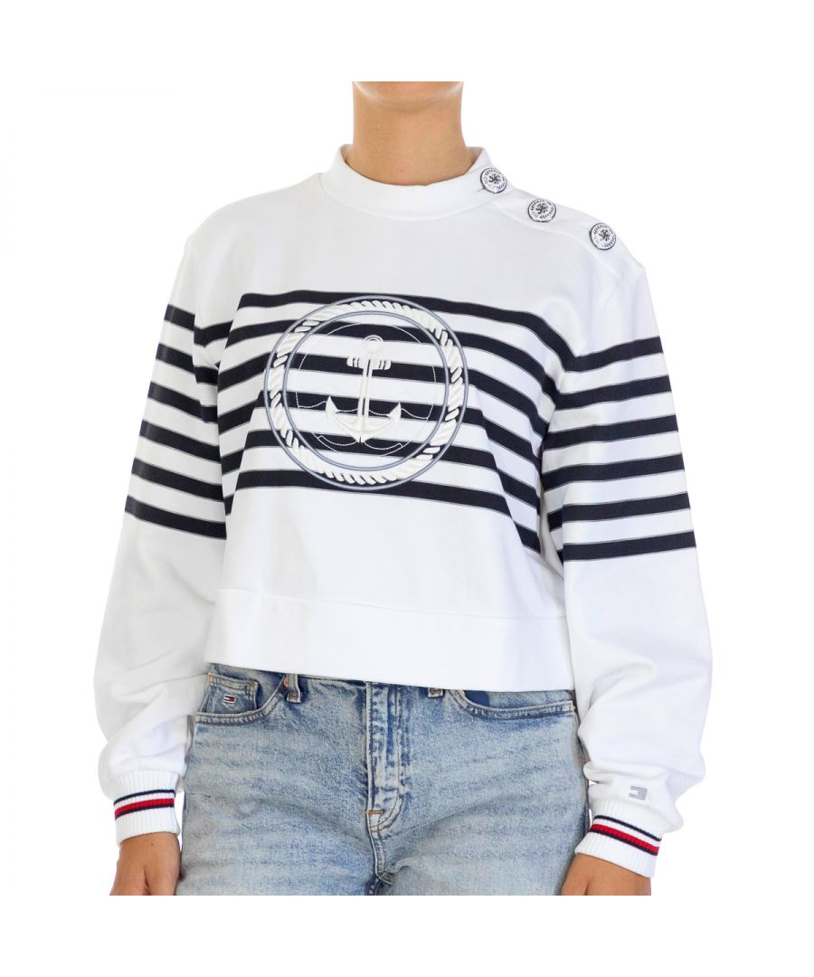 Image for Tommy Hilfiger Women Sweatshirts   Full sleeve Multicolor