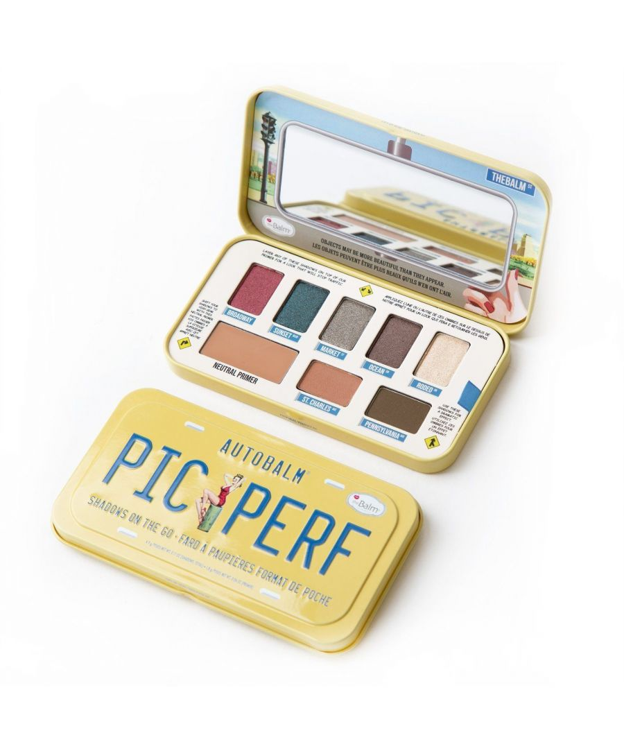 Image for theBalm Autobalm Picture Perfect Eye Shadow Palette