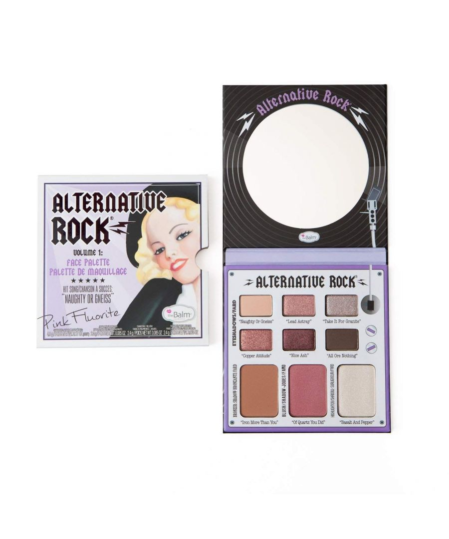 Image for theBalm Alternative Rock - Volume 1 Face Palette