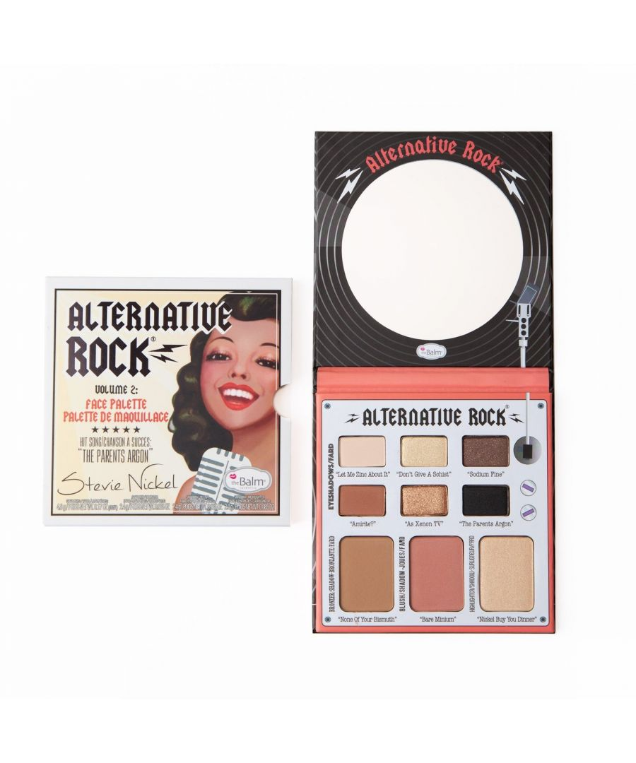 Image for theBalm Alternative Rock - Volume 2 Face Palette