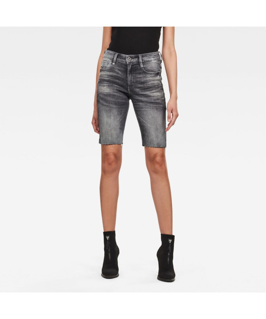 Image for G-Star RAW Noxer High Slim Short Raw Edge