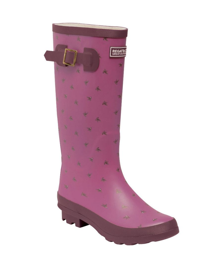 Image for Regatta Womens/Ladies Ly Fairweather II Durable Wellington Boots