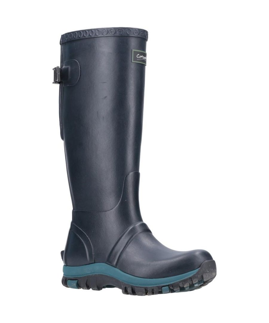 Image for Cotswold Womens/Ladies Realm Wellington Boots (Navy)