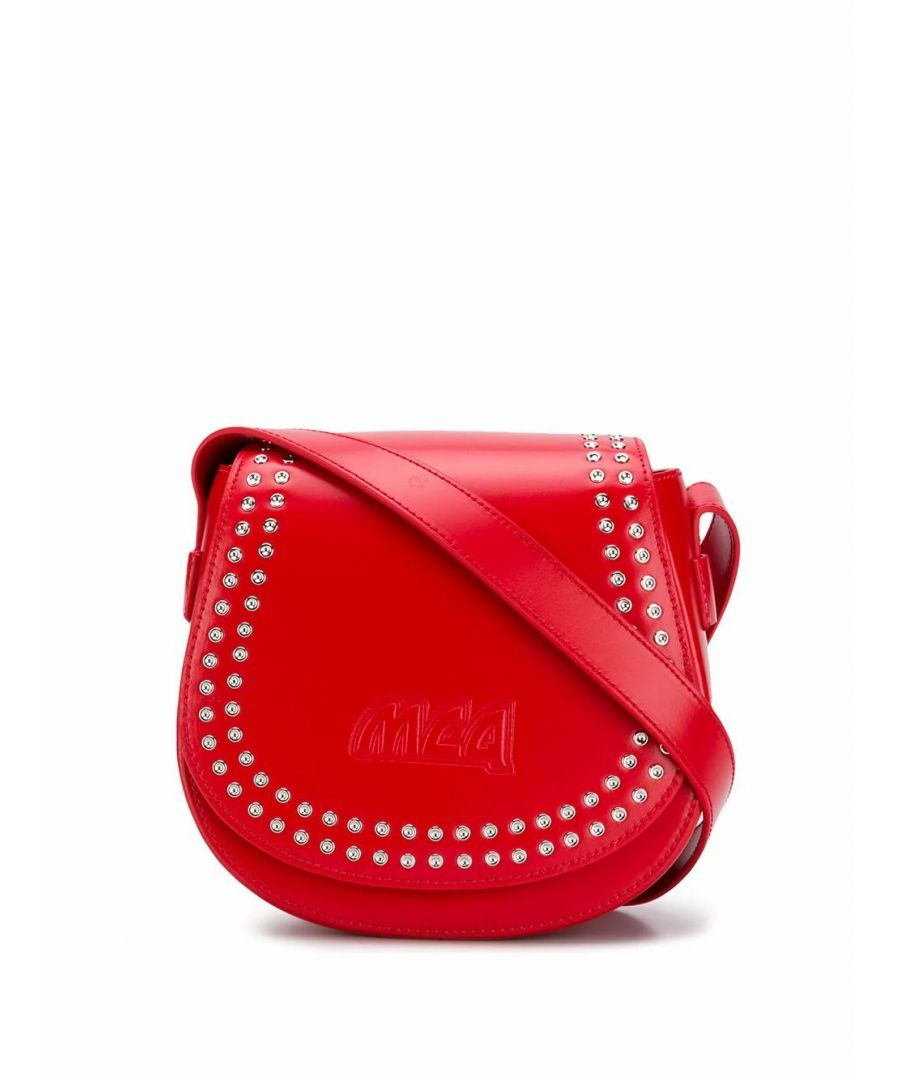 Image for MCQ BY ALEXANDER MCQUEEN WOMEN'S 525117R7B226009 RED LEATHER SHOULDER BAG