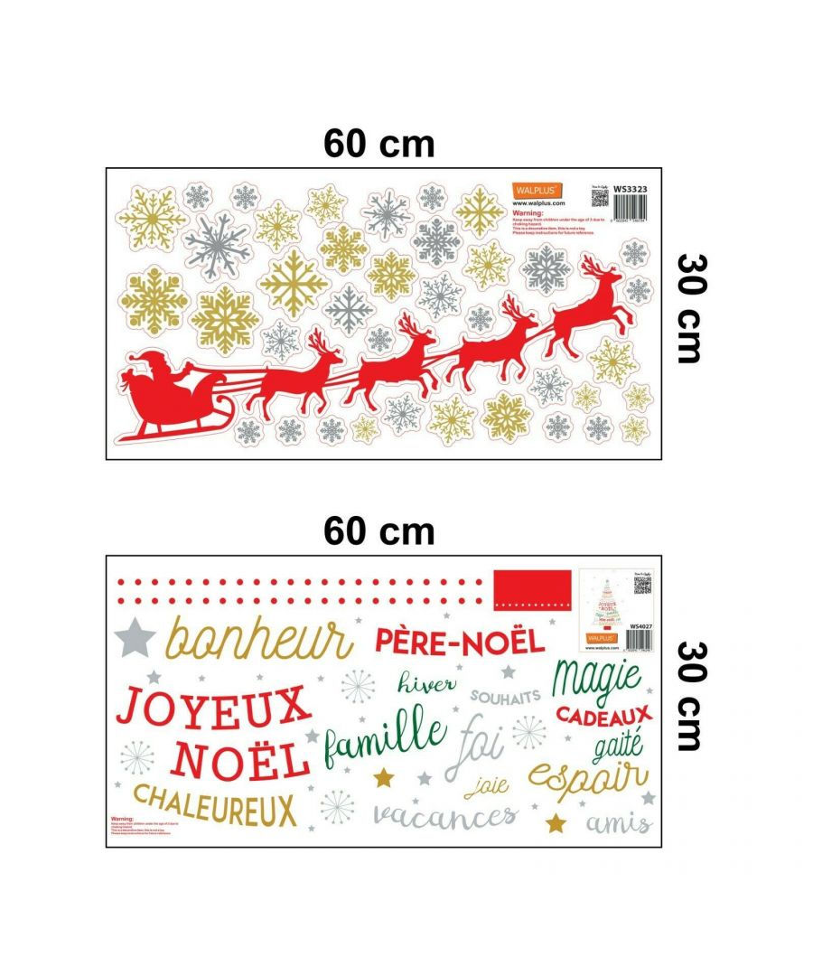 Image for WFXC5305 - COM - WS4027 + WS3323 - French Quotes Santa's sleigh Christmas Tree