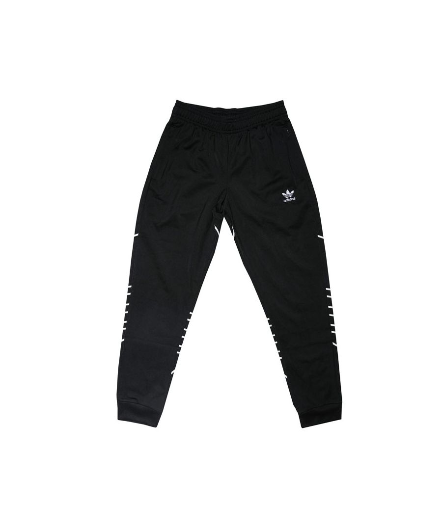Image for Boy's adidas Originals Infants Large Trefoil Pants in Black-White