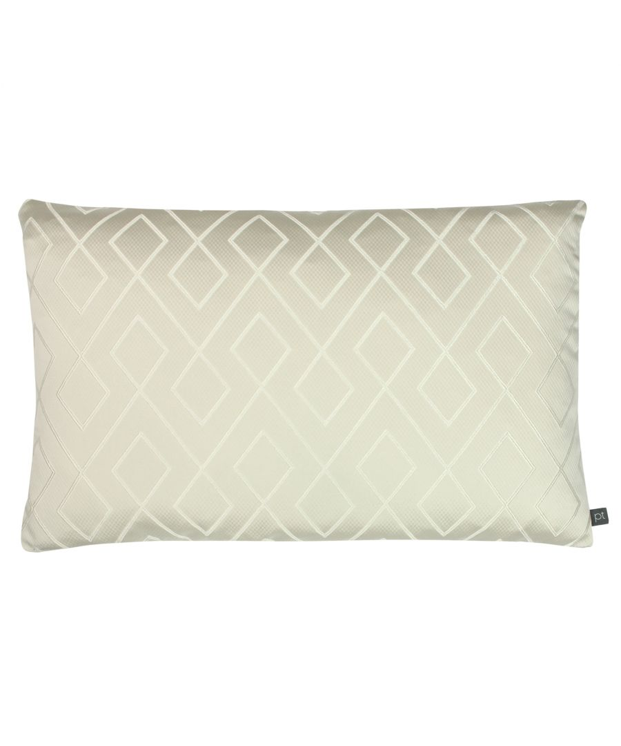 Image for Prestigious Textiles Pivot Polyester Filled Cushion, Polyester, Parchment