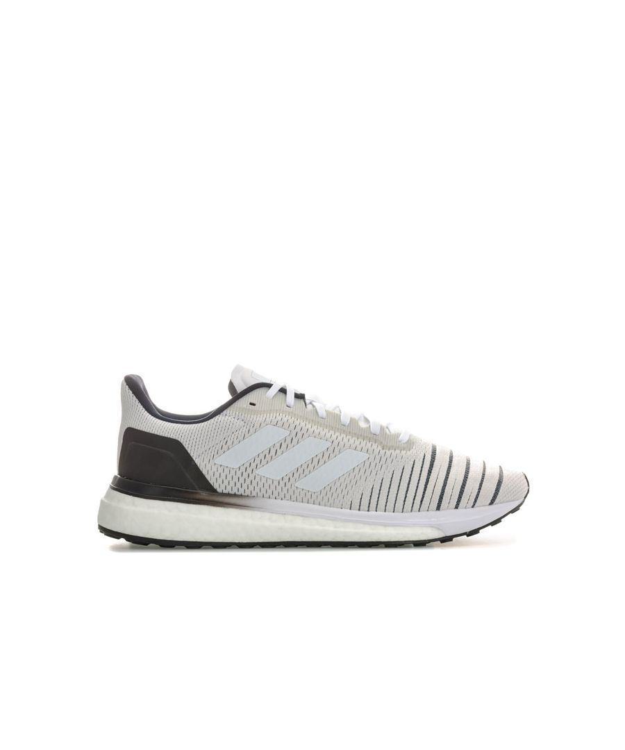 Image for Women's adidas Solar Drive Running Shoes in White Black