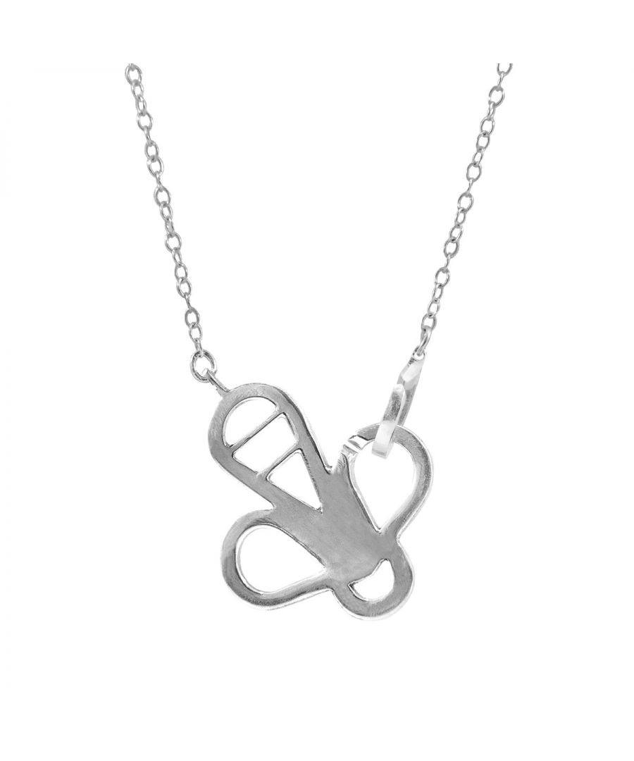 Image for ANCHOR & CREW Flying Bee Link Paradise Silver Necklace Pendant