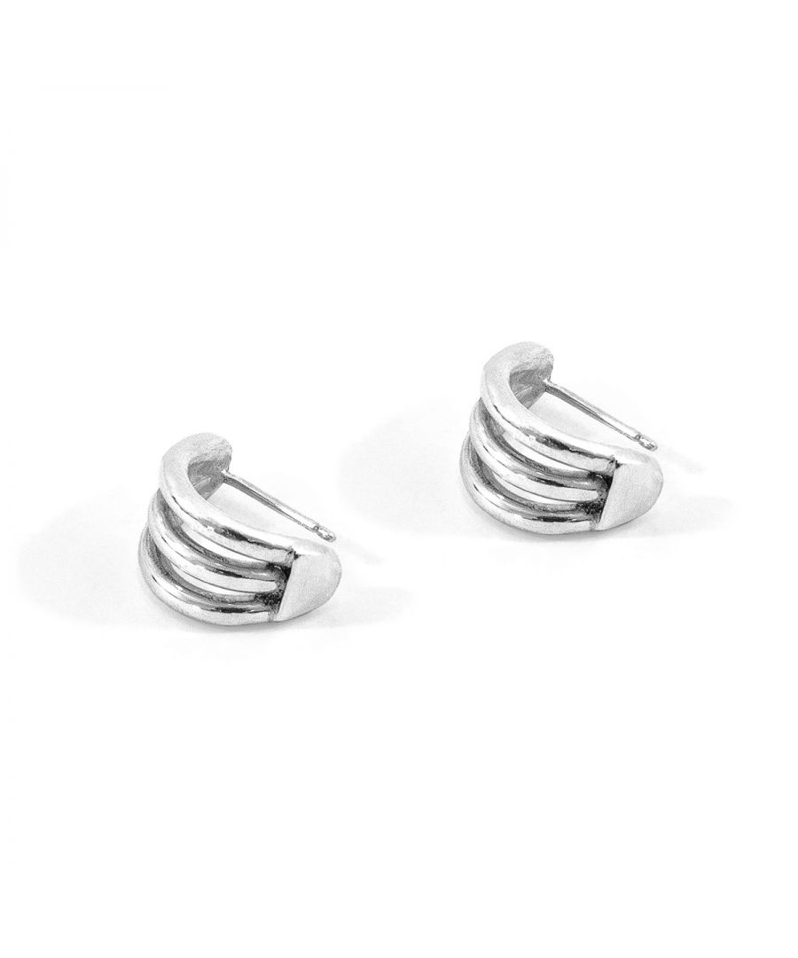 Image for ANCHOR & CREW Bondi Surf Silver Earring Studs