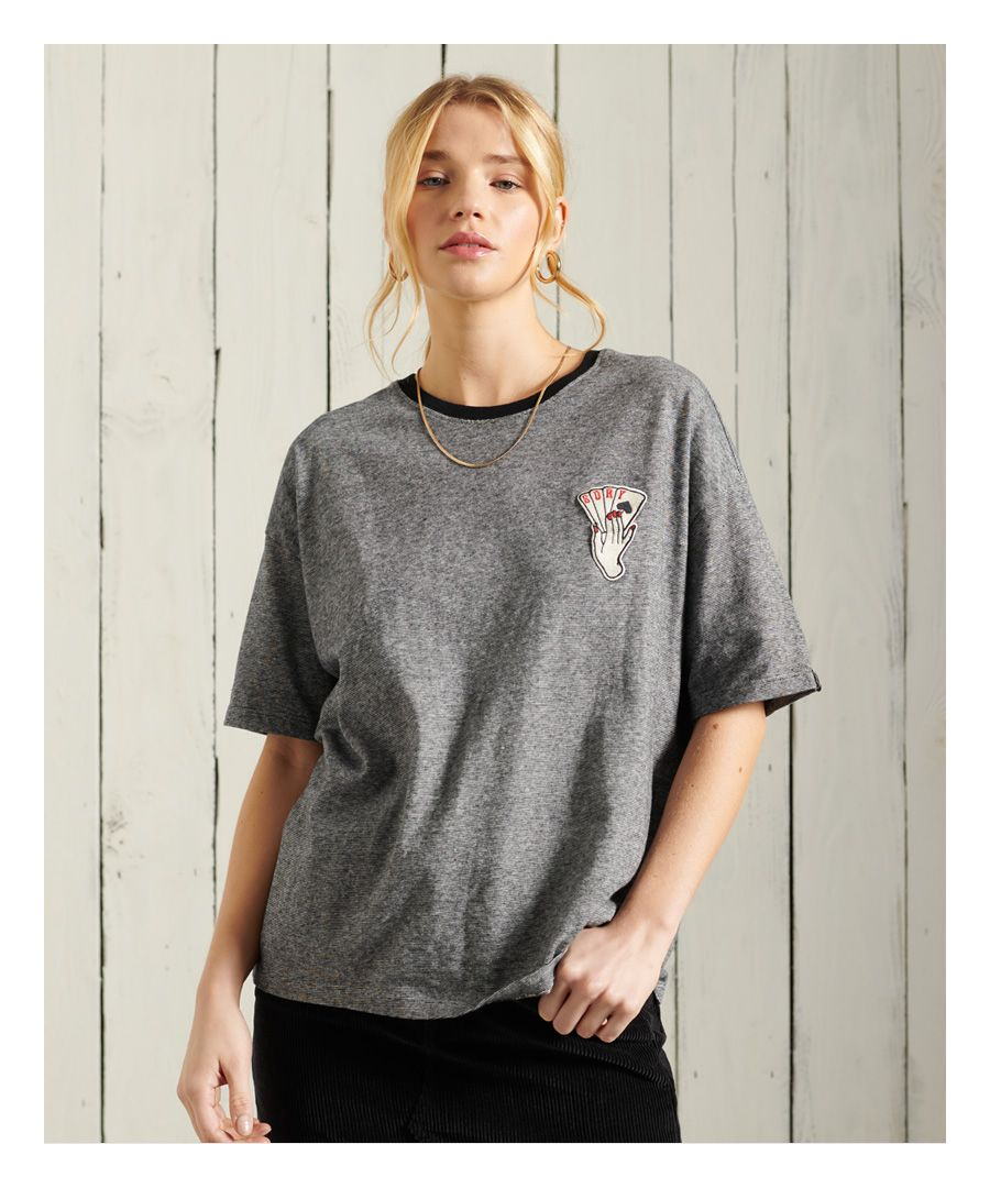 Image for Superdry Military Narrative Boxy Tee