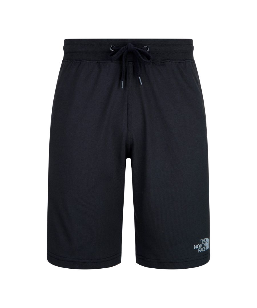 Image for The North Face Men's Logo Shorts in Black