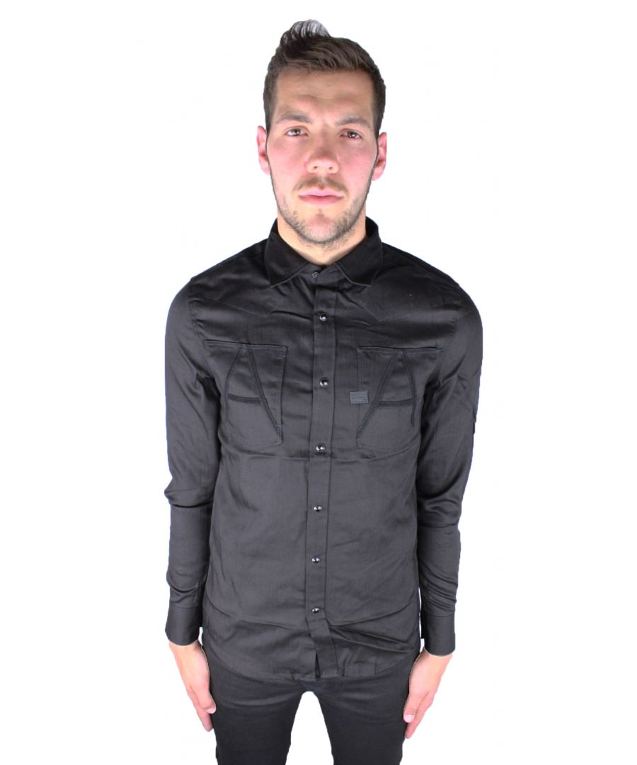 Image for G-Star Raw A-Crotch Varsity Work Shirt Raw Casual Shirt