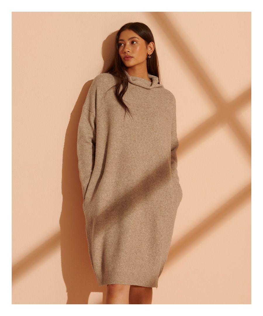 Image for Superdry Isabella Funnel Neck Dress