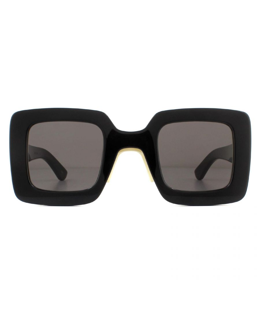Image for Gucci Sunglasses GG0780S 005 Black Grey