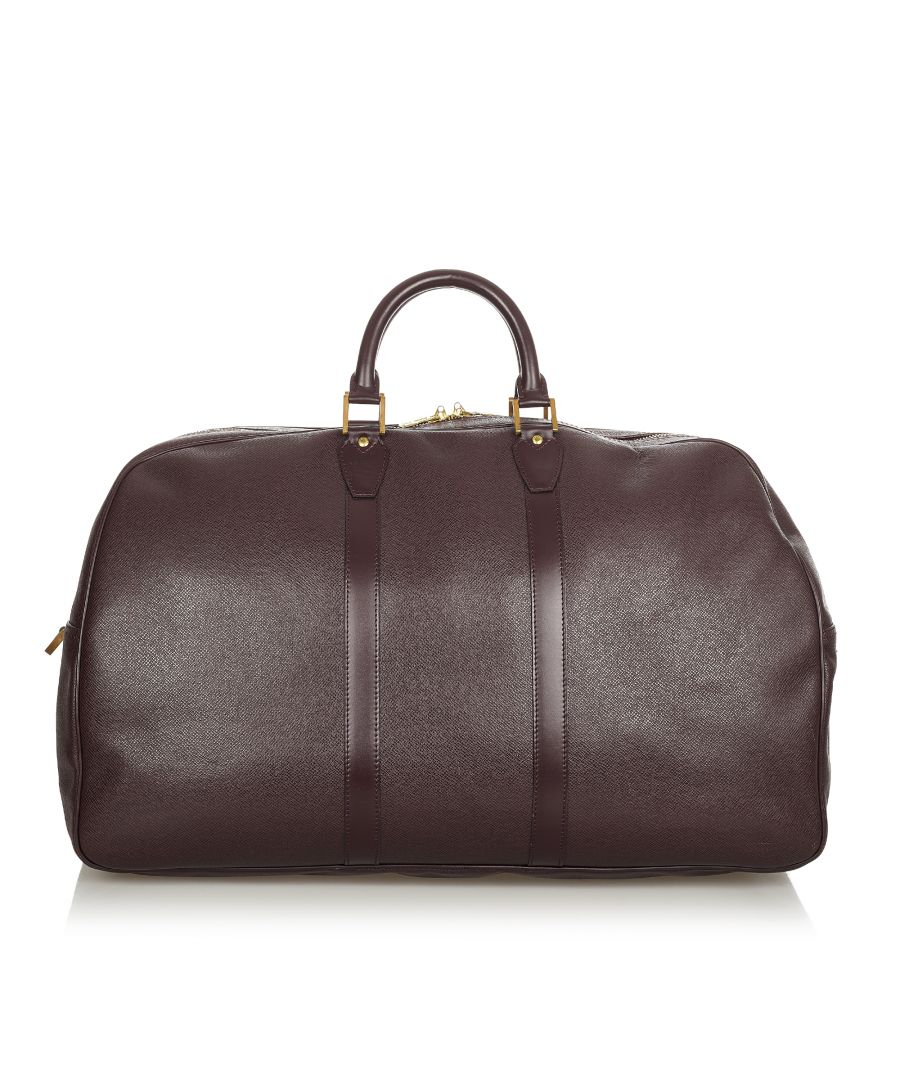 Image for Vintage Louis Vuitton Taiga Kendall Gm Brown