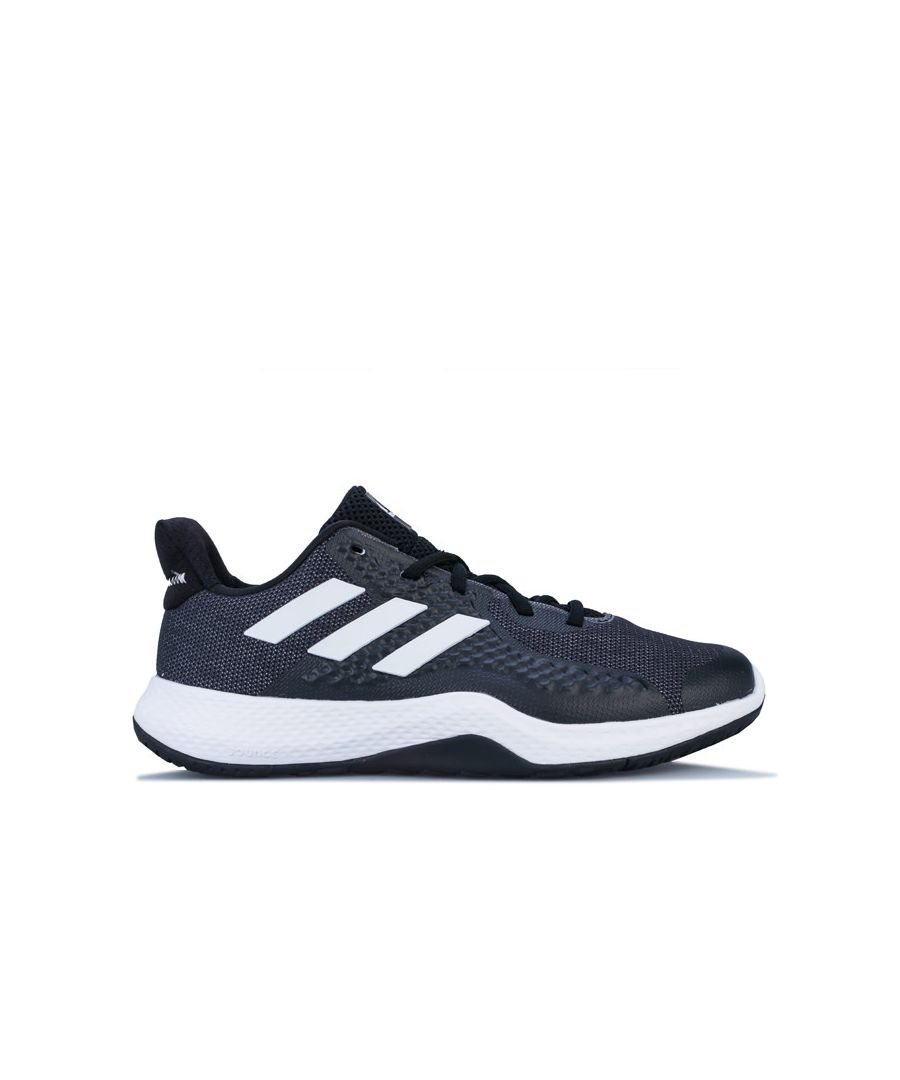 Image for Women's adidas Fitbounce Trainers in Black-White