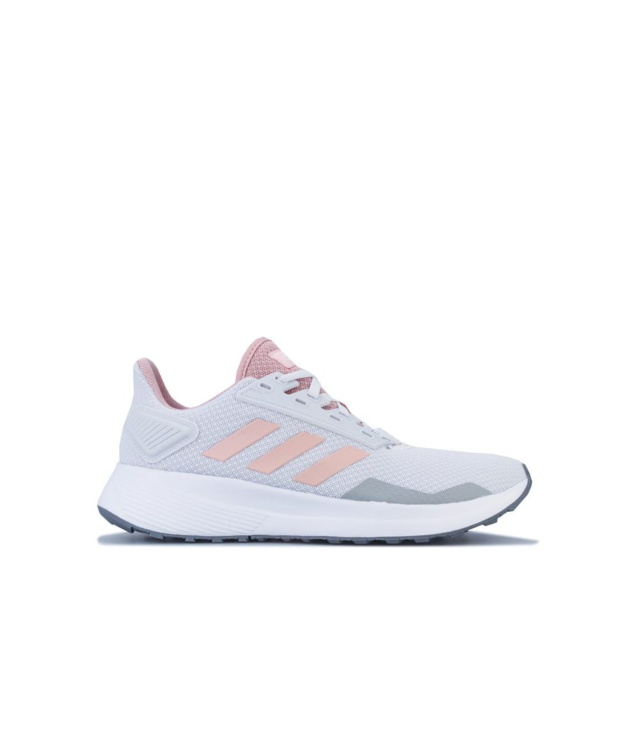 Image for Women's adidas Duramo 9 Running Shoes in Pink grey