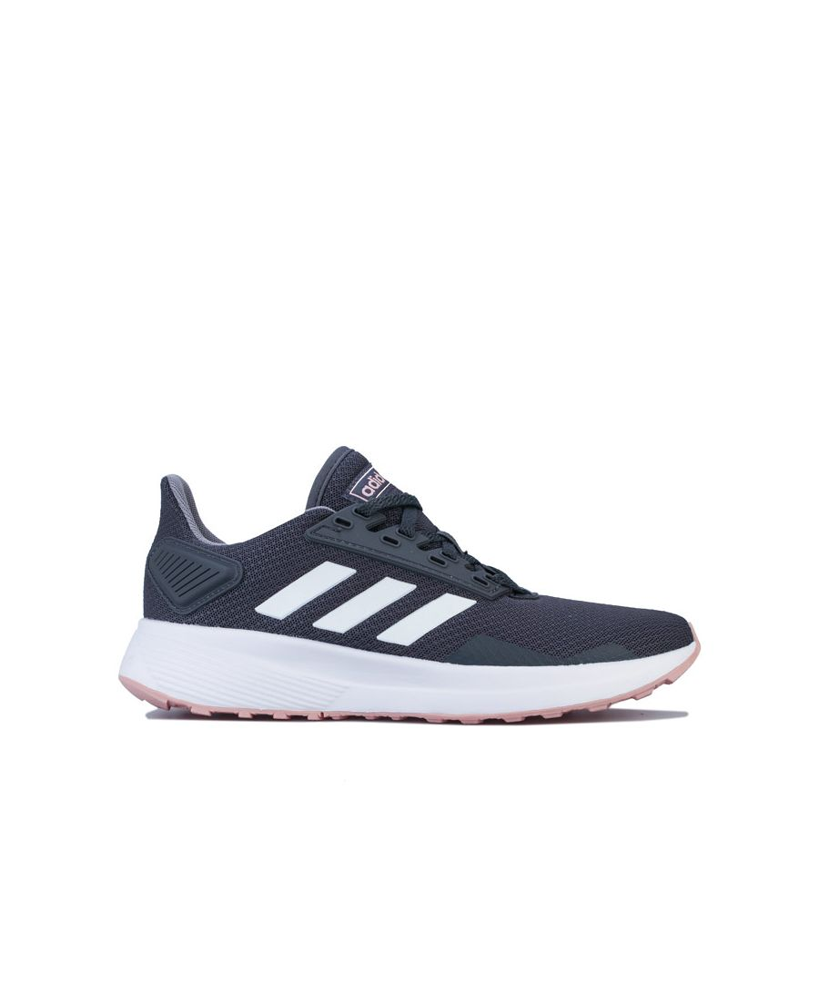 Image for Women's adidas Duramo 9 Running Shoes in Grey White