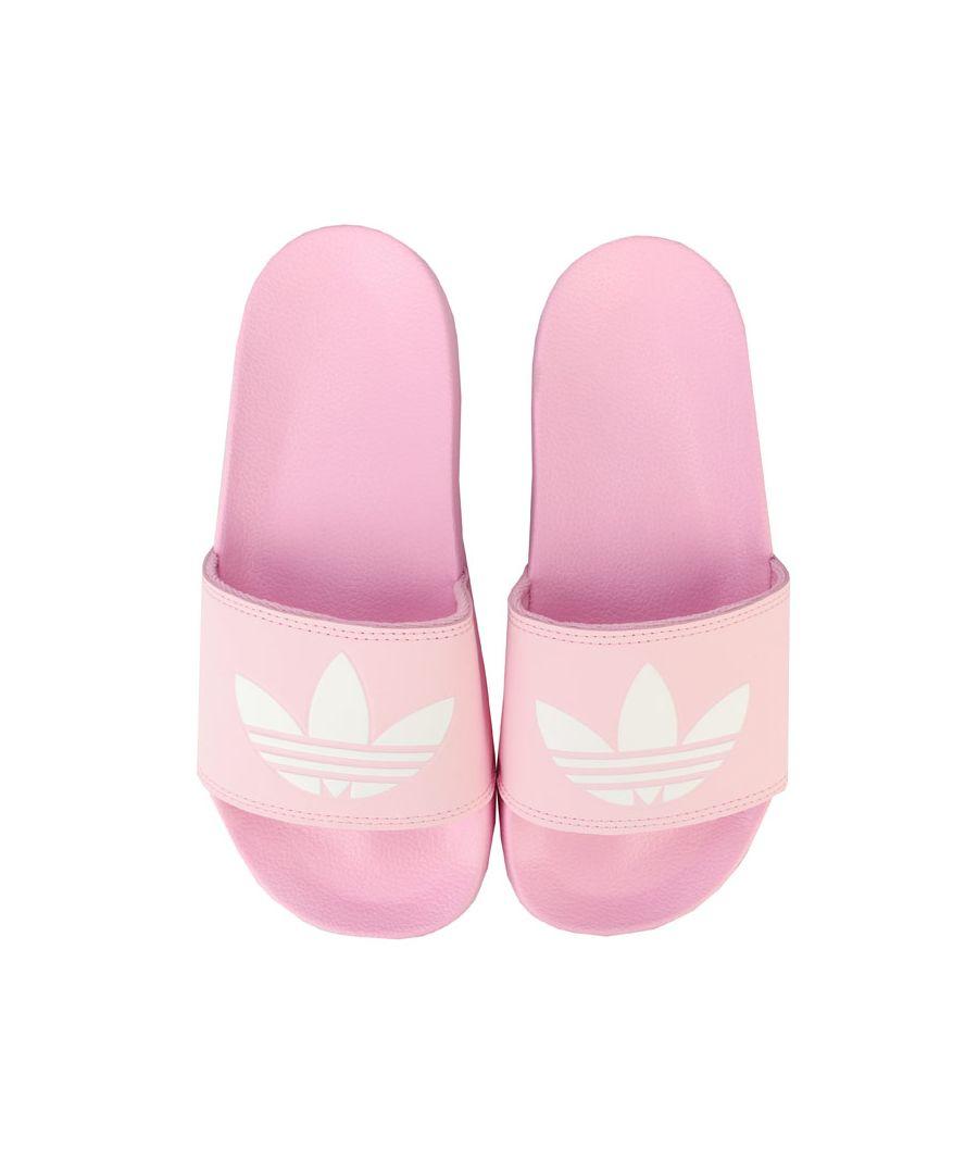 Image for Women's adidas Originals Adilette Lite Slide Sandals in Pink