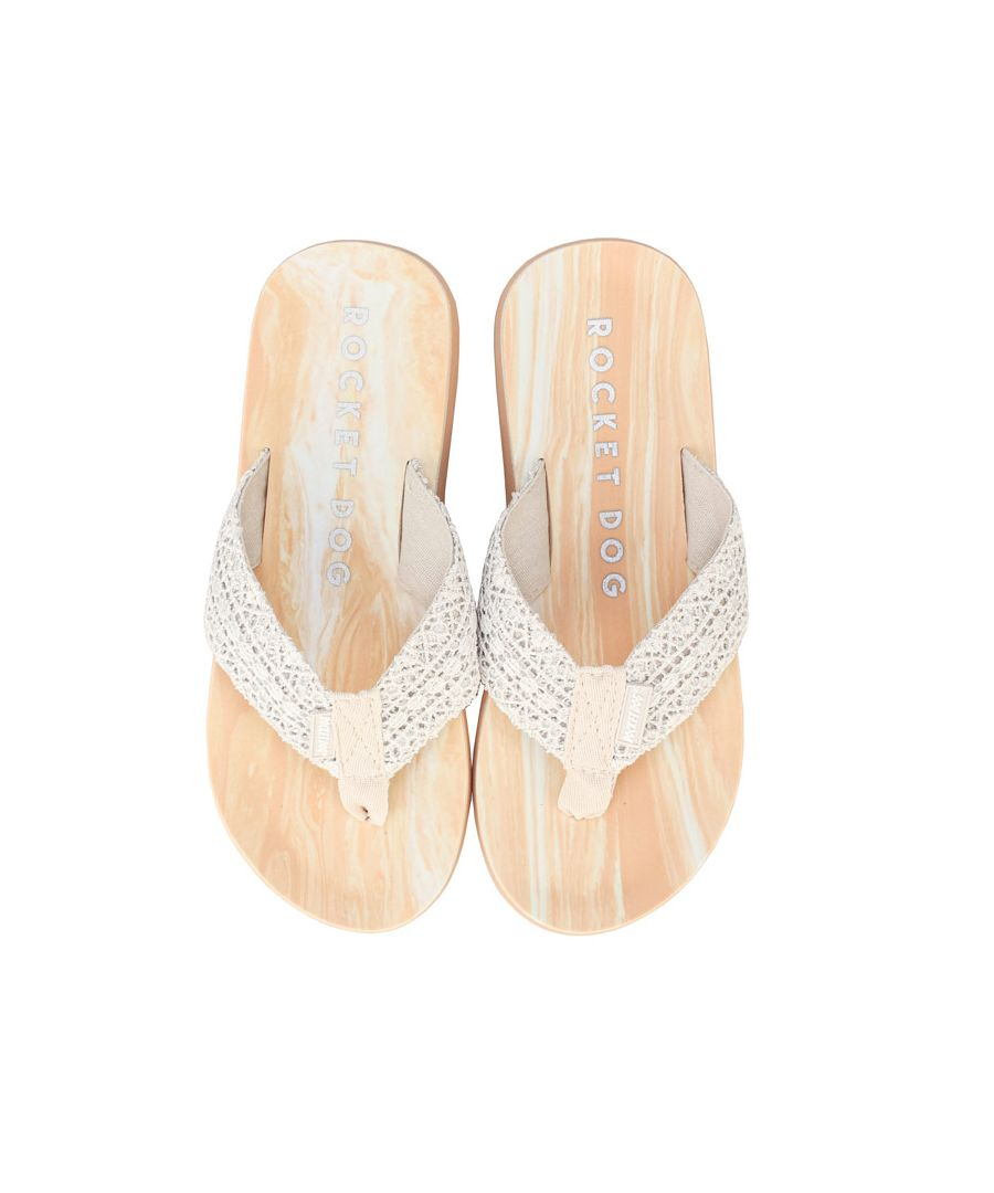 Image for Women's Rocket Dog Adios Pearl Flip Flops in Cream