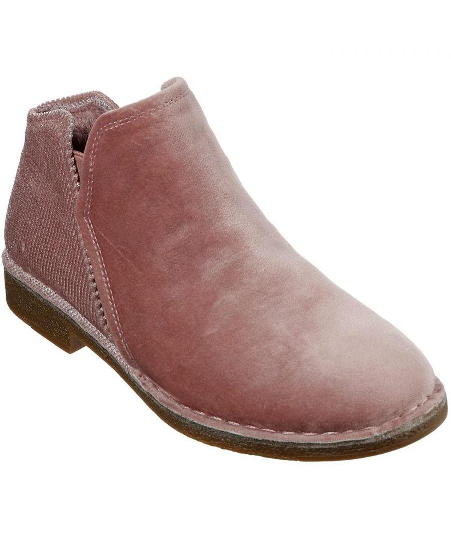 Image for Skechers Womens Bob Harm Er Flat Ankle Boots Slip On Shoes