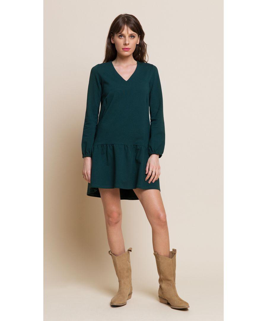 Image for Rose Bottle Green Dress