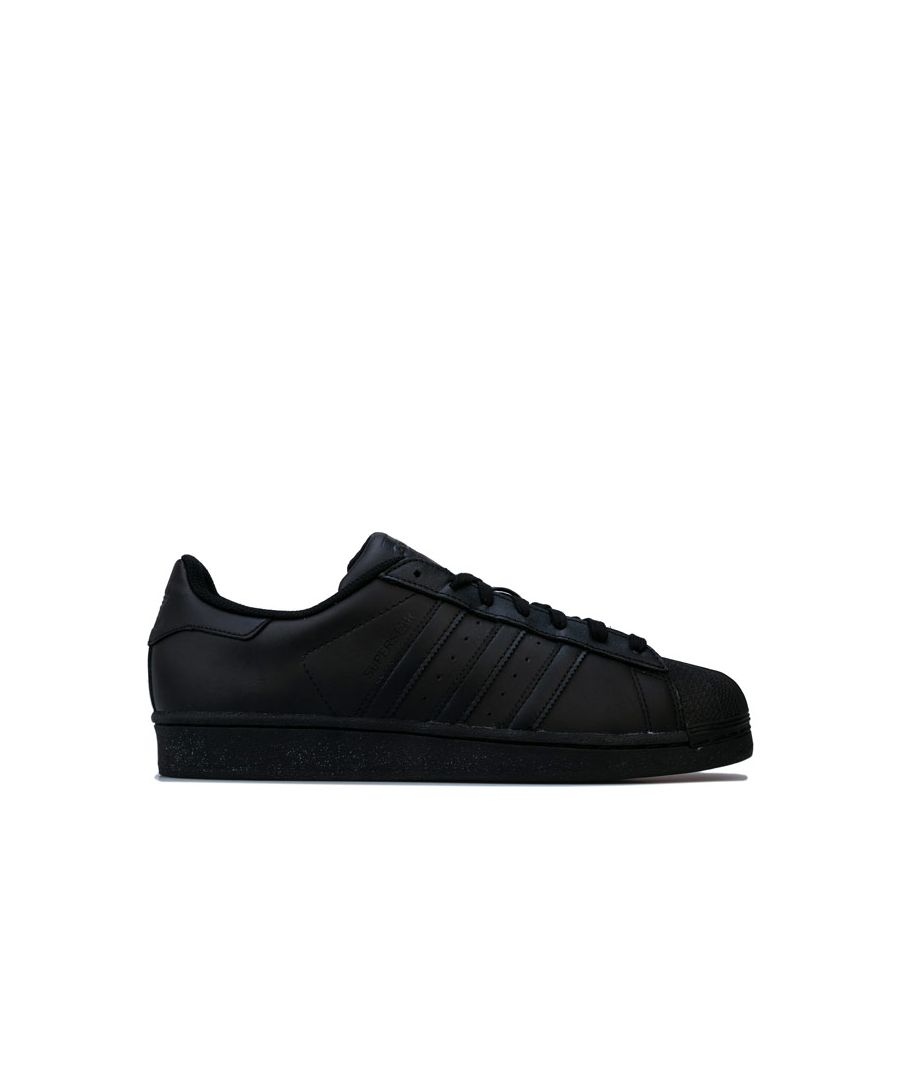 Image for Men's adidas Originals Superstar Foundation Trainers in Black