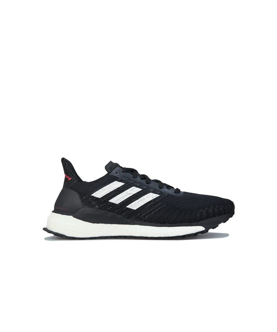 Image for Women's adidas Solarboost 19 Running Shoes in Black-White