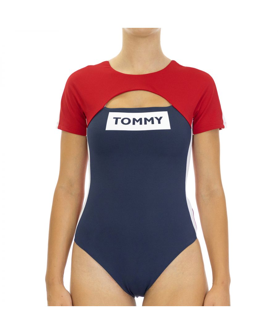 Image for Tommy Hilfiger Women's Swimsuit in Multicolor