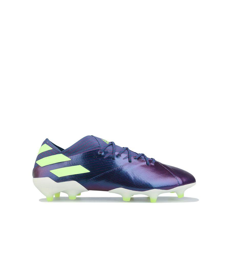 Image for Men's adidas Nemeziz Messi 19.1 FG Football Boots in Indigo